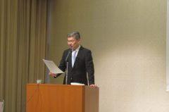 講師の藤井聡京都大学大学院教授